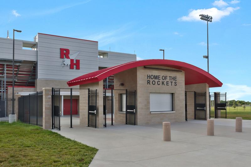 Rose Hill Stadium Entrance